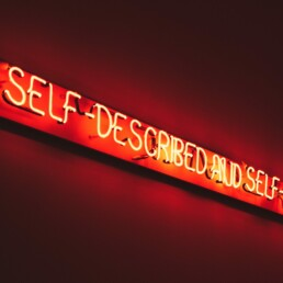 Self-described and self-defined